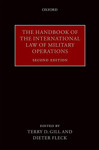 9780198744627: The Handbook of the International Law of Military Operations
