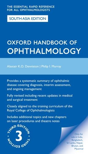 9780198745648: OXFORD HANDBOOK OF OPHTHALMOLOGY 3/E 2015 (SOUTH ASIA EDN)