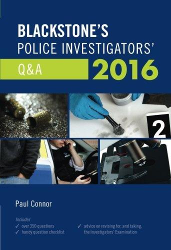 9780198745709: Blackstone's Police Investigators' Q&A 2016