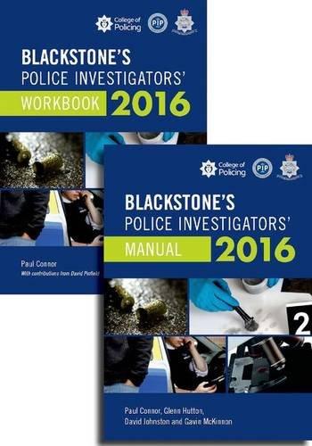 9780198745815: Blackstone's Police Investigators' Manual and Workbook 2016