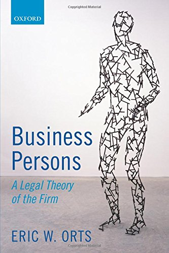 9780198746461: Business Persons: A Legal Theory of the Firm