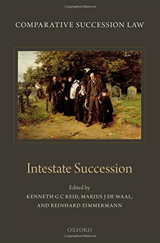 9780198747123: Comparative Succession Law: Volume II: Intestate Succession