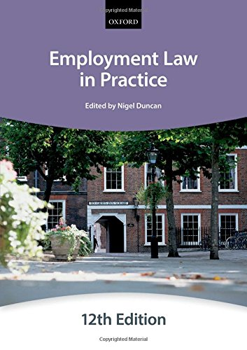 Employment Law in Practice (Paperback): The City Law School