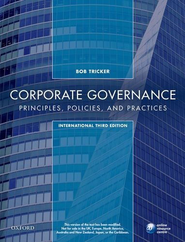 9780198747468: Corporate Governance: Principles, Policies, And Practices 3Rd Edition