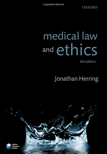 9780198747659: Medical Law and Ethics