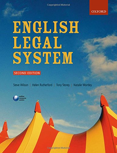 English Legal System: Wilson, Steve; Rutherford,