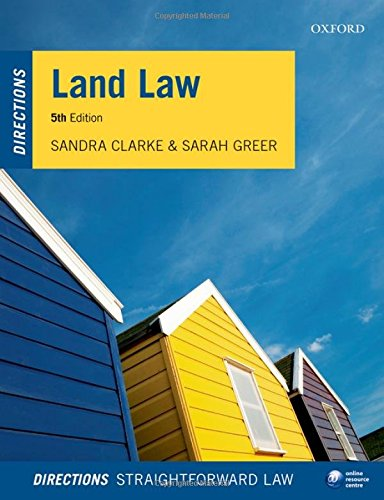 9780198748458: Land Law Directions 5/e (Directions series)