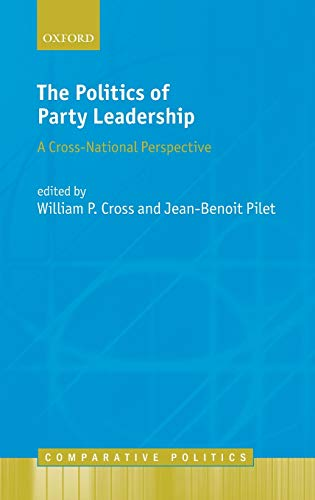9780198748984: The Politics of Party Leadership: A Cross-National Perspective (Comparative Politics)