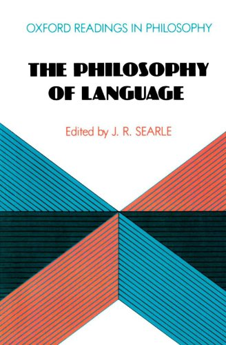 9780198750154: The Philosophy of Language (Oxford Readings in Philosophy)