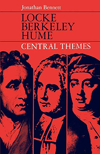 9780198750161: Locke, Berkeley, Hume: Central Themes