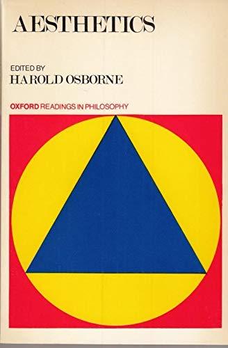 Aesthetics (Oxford Readings in Philosophy): Osborne, Harod