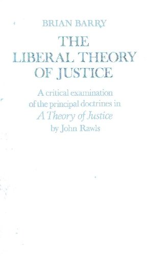 The Liberal Theory of Justice