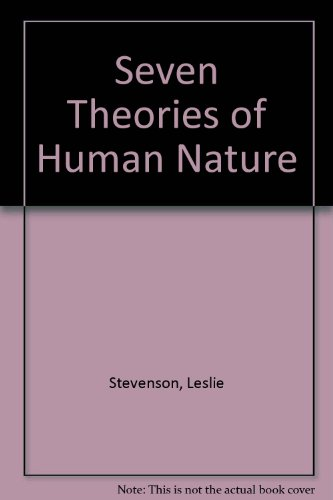 9780198750338: Seven Theories of Human Nature