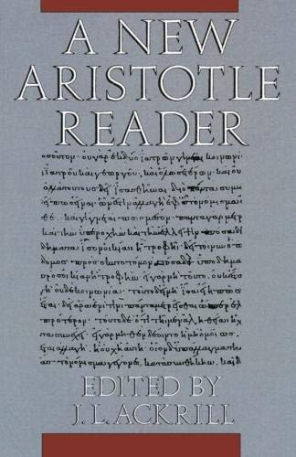 9780198750611: A New Aristotle Reader