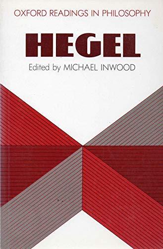 9780198750666: Hegel (Oxford Readings in Philosophy)