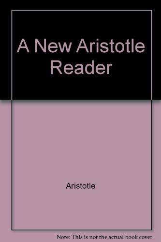 9780198750697: A New Aristotle Reader
