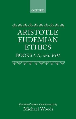 9780198751328: Eudemian Ethics: Books I, II, and VIII (Clarendon Aristotle Series) (Bks. 1, 2 & 8)