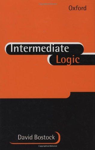 9780198751410: Intermediate Logic