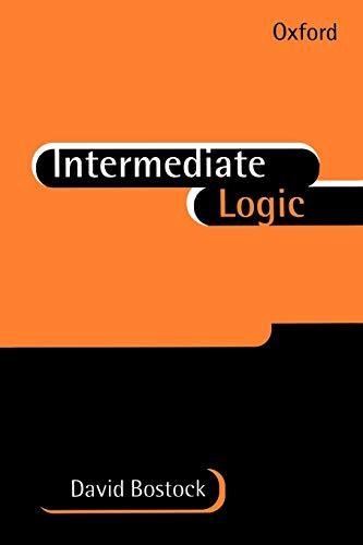 9780198751427: Intermediate Logic