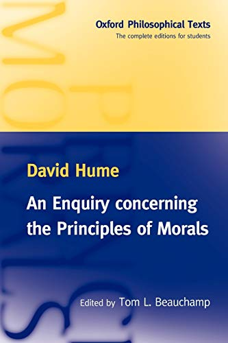 9780198751847: An Enquiry concerning the Principles of Morals (Oxford Philosophical Texts)