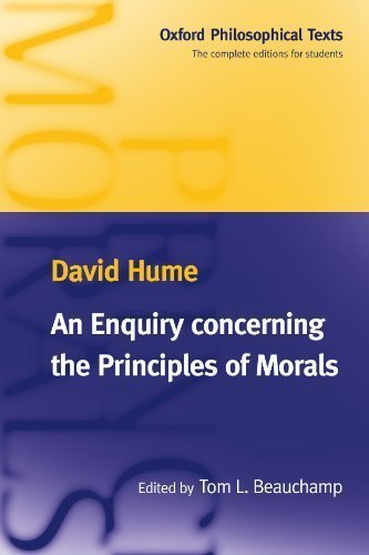 9780198751854: An Enquiry concerning the Principles of Morals (Oxford Philosophical Texts)