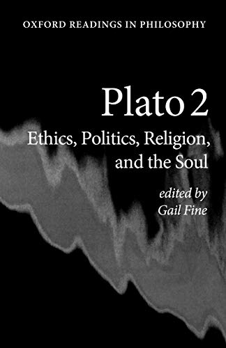 9780198752042: Plato 2: Ethics, Politics, Religion, and the Soul (Oxford Readings in Philosophy)