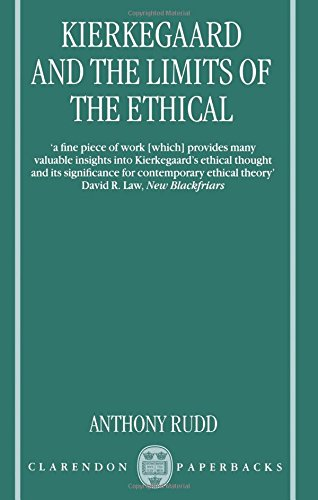 9780198752189: Kierkegaard and the Limits of the Ethical