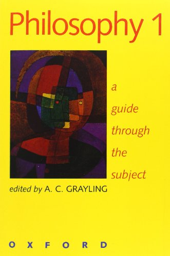 9780198752431: Philosophy 1: A Guide through the Subject (Vol 1)