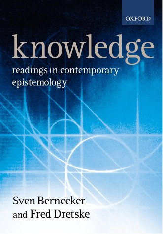 9780198752615: Knowledge: Readings in Contemporary Epistemology (Ox Readings Philosophy Series)
