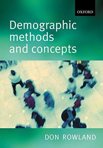 9780198752639: Demographic Methods and Concepts