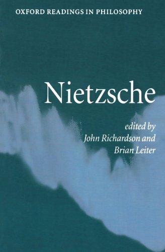 9780198752707: Nietzsche (Oxford Readings in Philosophy)