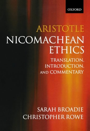 9780198752714: Aristotle: Nicomachean Ethics: Translation, Introduction, Commentary