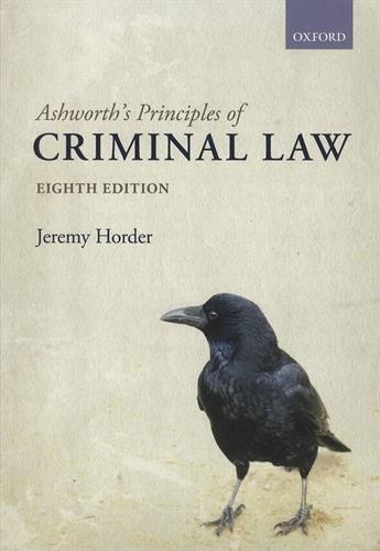 9780198753070: Ashworth's Principles of Criminal Law