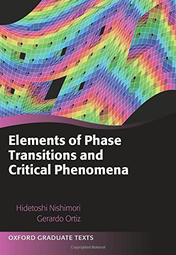 9780198754084: Elements of Phase Transitions and Critical Phenomena (Oxford Graduate Texts)