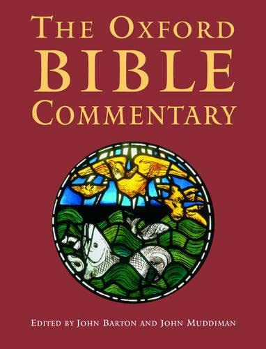9780198755005: The Oxford Bible Commentary