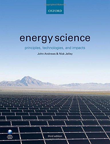 Energy Science 3 Rev ed: Jelley, Nick;andrews, John