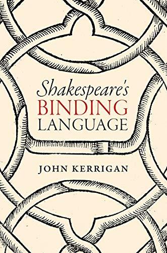9780198757580: Shakespeare's Binding Language