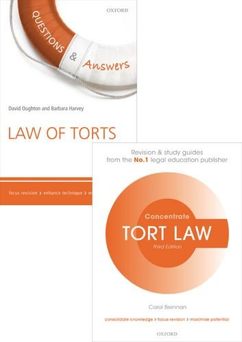9780198757801: Tort Law Revision Pack 2015: Law revision and study guide (Concentrate)