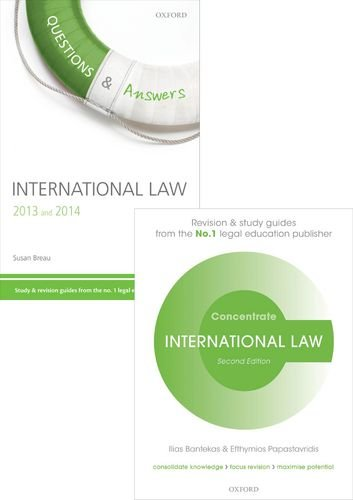 9780198757825: International Law Revision Pack 2015 Law revision and study guide (Pack) (Concentrate)