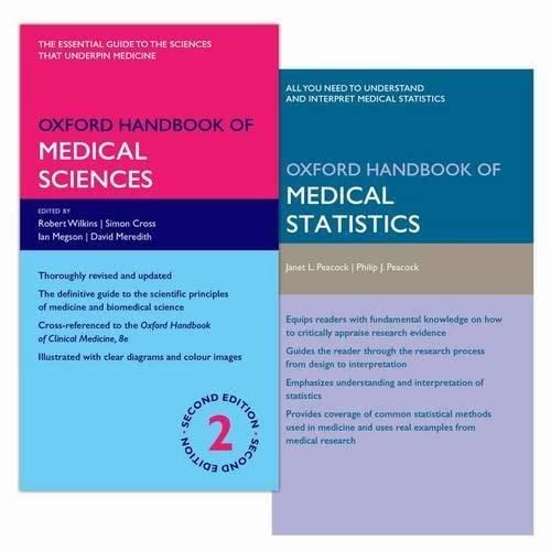 9780198758020: Oxford Handbook of Medical Science 2e and Oxford Handbook of Medical Statistics 2e Pack (Oxford Medical Handbooks)
