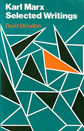 9780198760382: Karl Marx: Selected Writings
