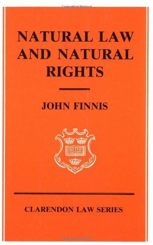 9780198761105: Natural Law and Natural Rights
