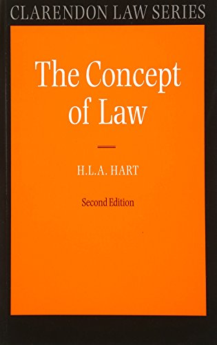 9780198761235: The Concept of Law (Clarendon Law Series)
