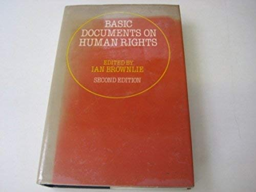 9780198761242: Basic Documents on Human Rights