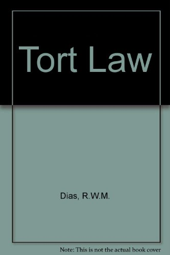 9780198761501: Tort Law