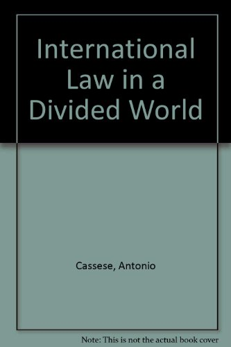 9780198761945: International Law in a Divided World