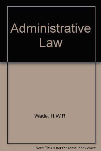 9780198762195: Administrative Law