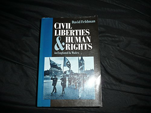 9780198762294: Civil Liberties and Human Rights in England and Wales