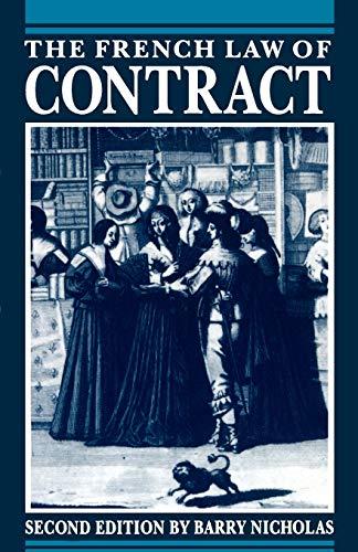 9780198762560: The French Law of Contract