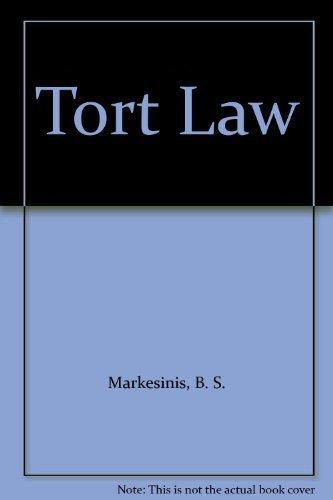 9780198762935: Tort Law